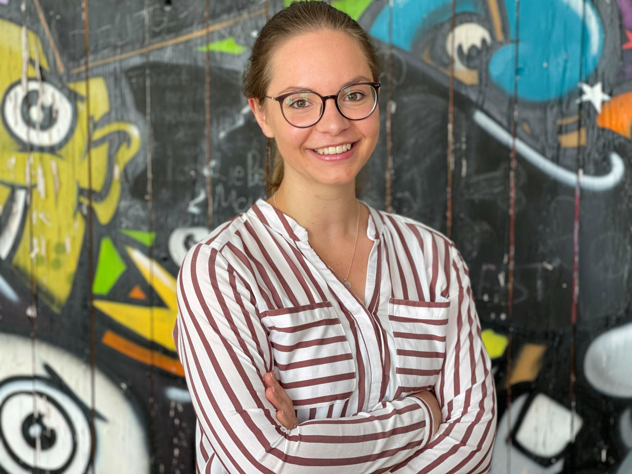 Unsere duale Studentin Sophia Schaufler im letzten Semester